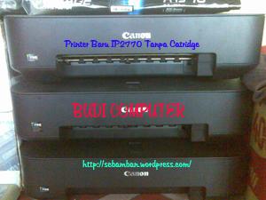 Printer IP2770 Baru Tanpa Catridge